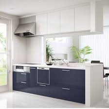 Navy Kitchen Cabinets by Interior White Kitchen Cabinets Cream Kitchen Units Metal