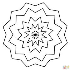 amazing easy mandala coloring pages alphabrainsz net