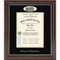degree frames diploma frames college of charleston bookstore