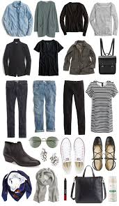 Travel Clothing Wrinkle Free A Travel Capsule Wardrobe Your Ultimate Packing List
