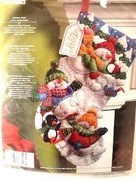 felt christmas kits christmas craft kits collection on ebay