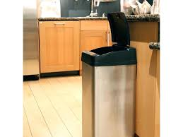 kitchen cabinet trash can pull out kitchen best kitchen trash can plastic trash cans under counter