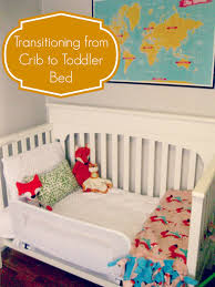 Crib To Bed Clare S Fox Y Big Bed The Transition From Crib To