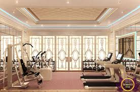 effective luxury design idea for home gym