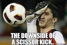 Funny Soccer Meme - hit in the face memes