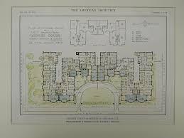 chicago apartment floor plans lochby court apartments chicago il 1916 original plan schmidt