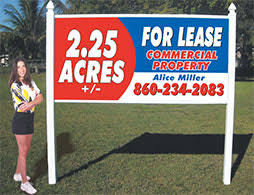order 4x8 signs commercial real estate signs site signs outdoor