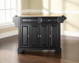 Black Kitchen Island Black Kitchen Island With Wood Top Modern Kitchen Island Design