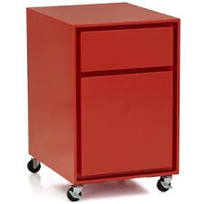 crate and barrel file cabinet crate barrel milton paprika filing cabinet furniture pinterest
