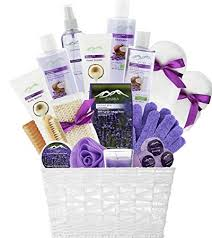 lavender gift basket deluxe xl gourmet gift basket with lavender coconut