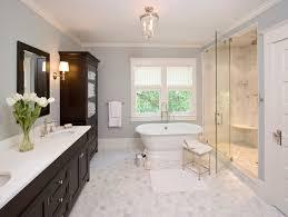 Marble Tile For Bathroom Carrera Marble Master Bathroom Countert Houzz