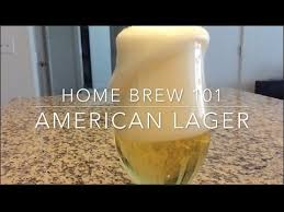 american light lager recipe brew american lager at home youtube