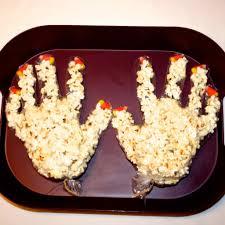 special needs children craft popcorn monster hands for halloween