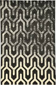 Black Chevron Area Rug Black 6 6 X 9 11 Chevron Rug Area Rugs Esalerugs Office