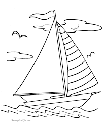 seasons coloring toys coloring pages yacht