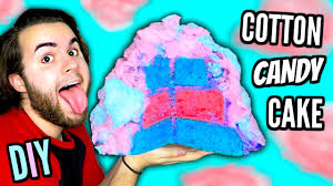 diy cotton candy cake how to make magical dessert