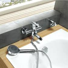 bathtub faucet wall mount bathroom faucet wall mount brushed nickel wall mount waterfall