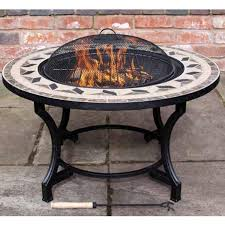 Firepit Bbq Gardeco Calenta Mosaic Bbq Pit On Sale Fast Delivery