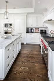 white kitchen wood floors our kitchen before after dark wood dark and woods