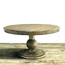unfinished wood dining table table pedestals wood solid wood transitional table pedestal