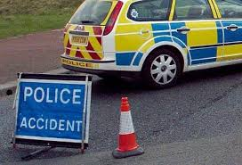 police close road after goddard avenue crash south wales guardian