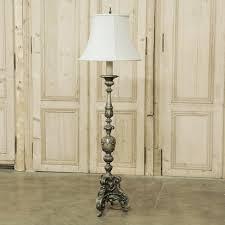 Crinkle Paper Floor Lamp by Floor Lamps Antique French Floor Lamp Vintage French Floor Lamps