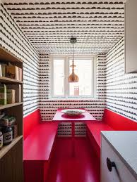 London Flat Interior Design Alexander Fehre Adds Bright Colours And Patterned Wallpapers To