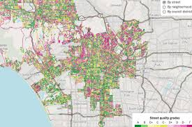 Los Angeles City Council District Map by The 6 Surprising La U0027hoods With The Best And Worst Streets