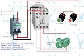 single phase submersible pump starter wiring diagram wiring