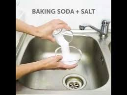 How To Clean Kitchen Sink With Baking Soda Useful 5 Minute Crafts Baking Soda And Salt Hacks