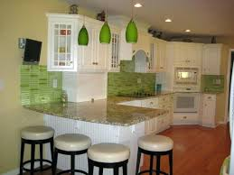 green tile kitchen backsplash green tile backsplash kitchen green subway tile white cabinets blue