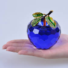 Apple Decor For Home Online Get Cheap Blue Apple Crystal Aliexpress Com Alibaba Group