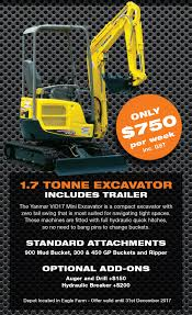 impact plant hire dry hire specialists servicing brisbane and