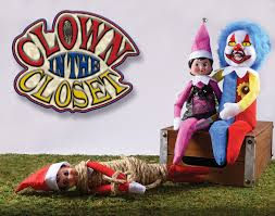 clown in the closet looks to start a new halloween tradition
