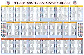 nfl schedule 2015 nfl schedule released sbnation