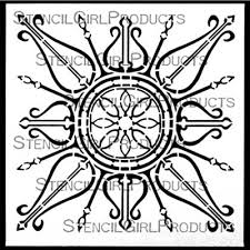 gwen s stencilgirl stencils decorative collection gwen lafleur