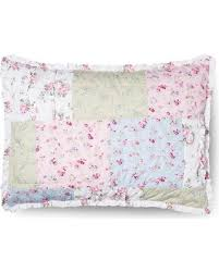 slash prices on simply shabby chic ditsy patchwork pillow sham