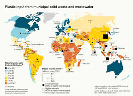 map world oceans plastic s impact on world s oceans outlined in 8 maps