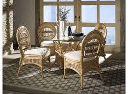 Rattan Dining Furniture Set Collections - Wicker dining room chairs