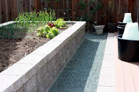vegetable garden panetta concrete