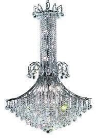 Elegant Lighting Chandelier Discount Led Light Chrome Modern Crystal Chandelier Lighting