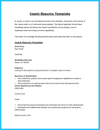 Coaching Resume Captivating Thing For Perfect And Acceptable Basketball Coach Resume