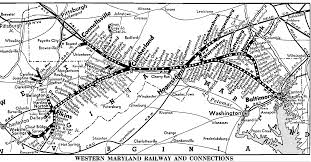 New York Central Railroad Map by Baltimore Railroad History Rsus