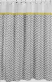 chic u0026 affordable yellow and gray shower curtains sassy dealz