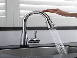 touchless faucet kitchen touch faucets for kitchen 100 images delta cassidy kitchen