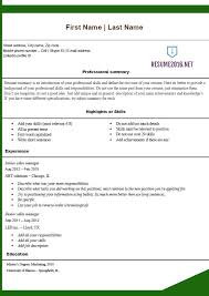 Resume Builder Job Description by Resume Builder Template