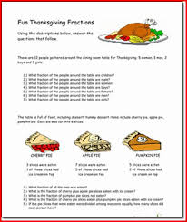 4th grade thanksgiving reading passages project edu
