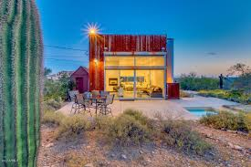 Arizona House by Tiny Desert Cube House Has Everything You Need For 275k Curbed