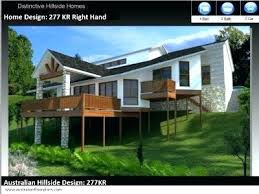 sloping lot house plans steep hillside house plans unbelievable 6 narrow lot sloping house