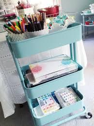 raskog cart ideas workspace wednesday paper supplies scrapbooking kit and